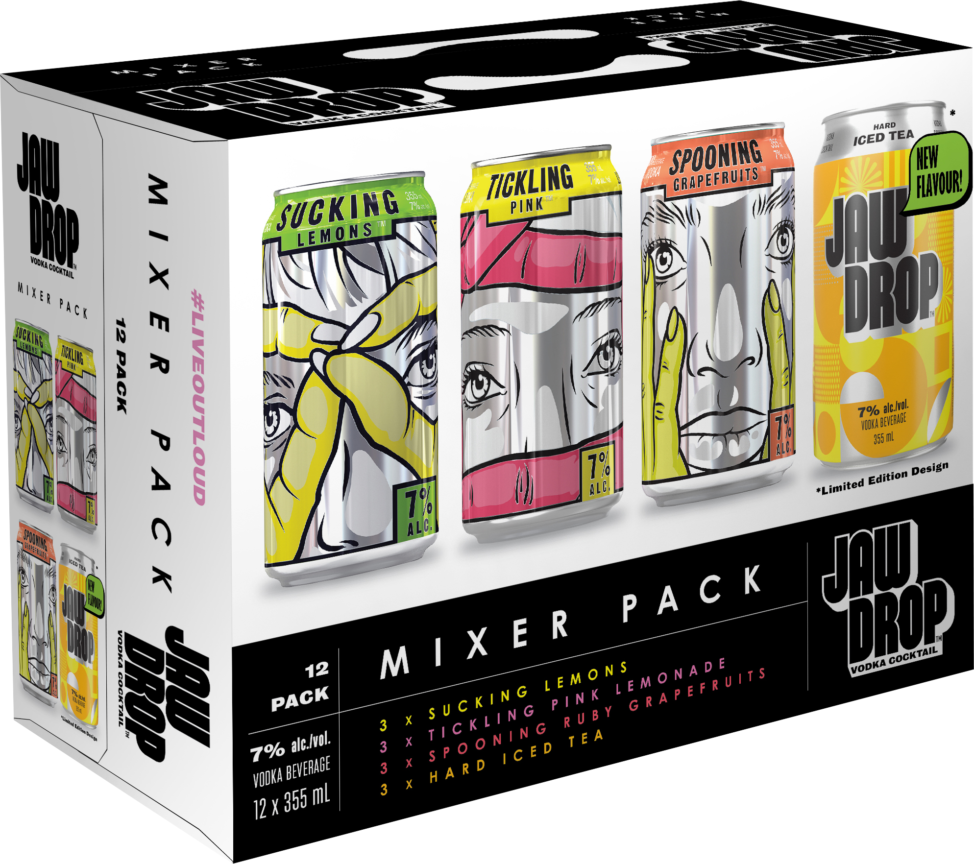 Jaw Drop Mixer Pack