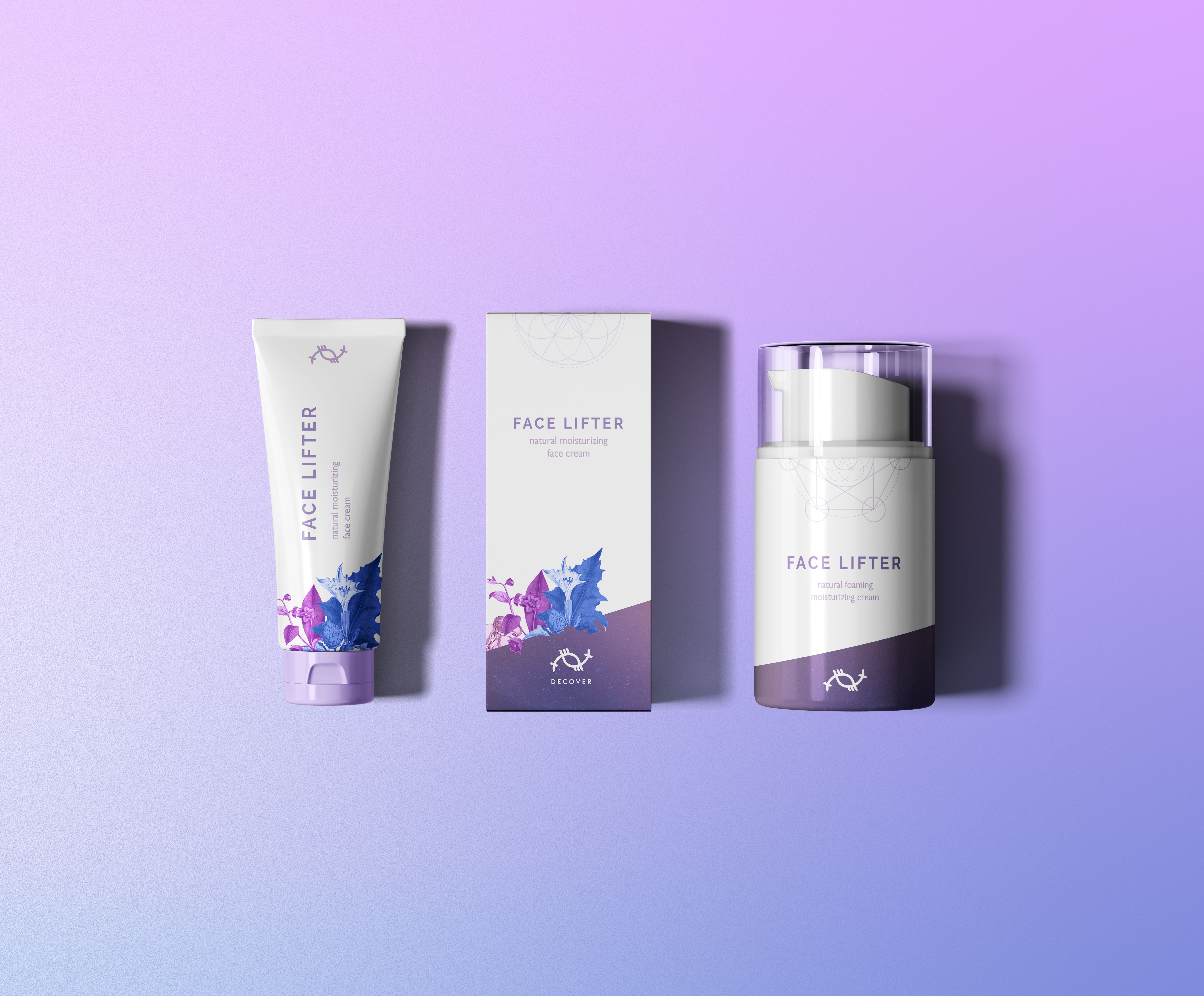 Facelifter Packaging for Decover