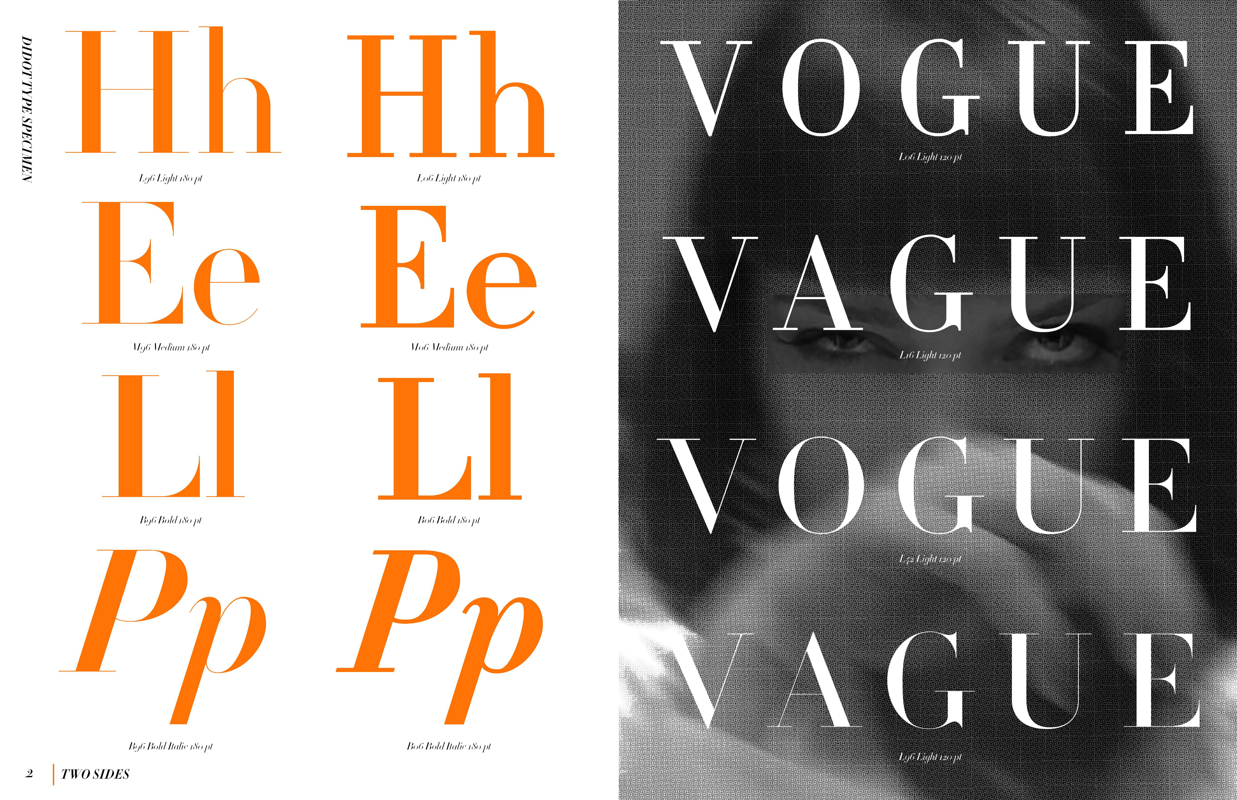 featured spread from type specimen