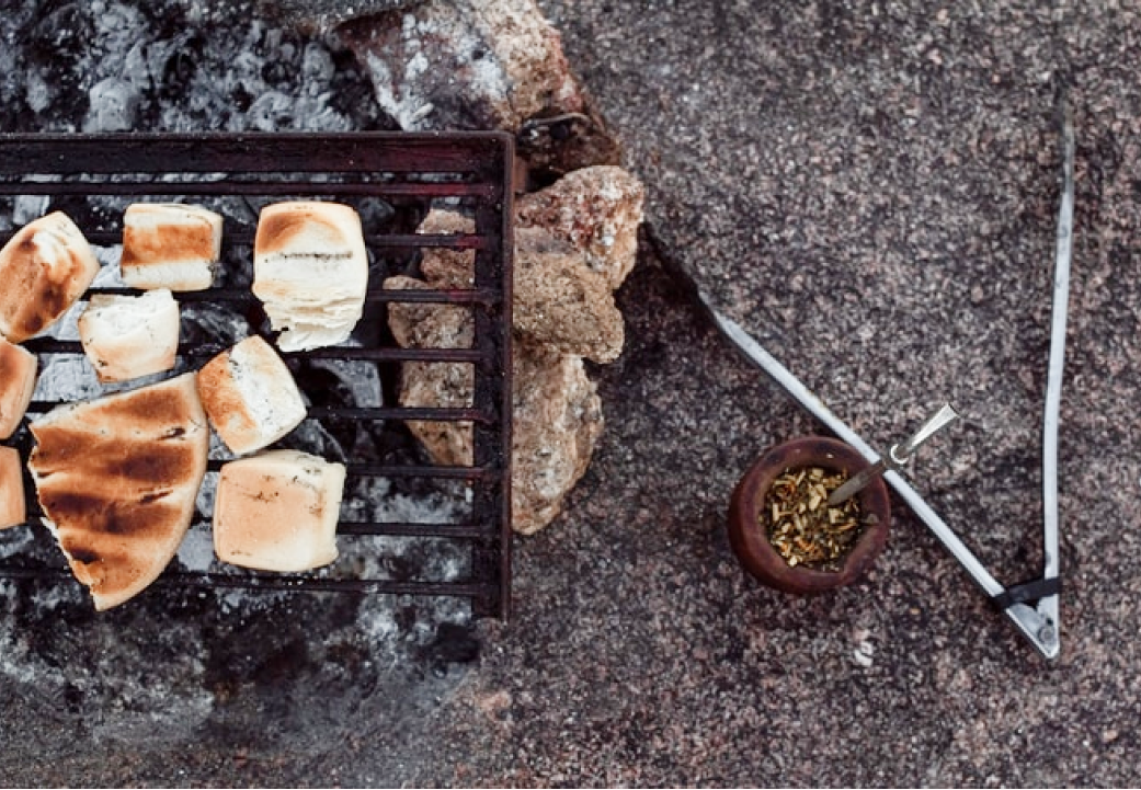 A photo of grilled meat.