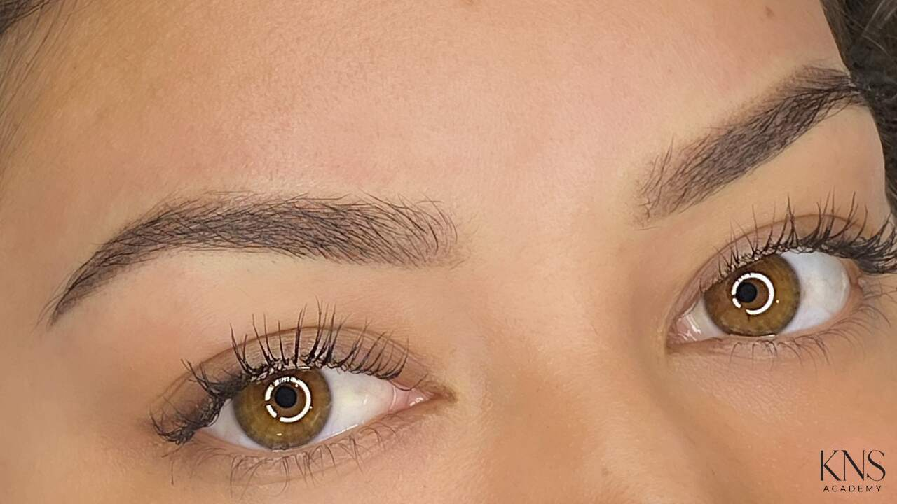 girl with healed powder brow results
