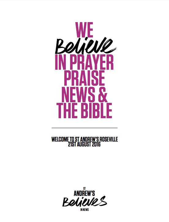 Church Newsletter - St Andrew's Roseville