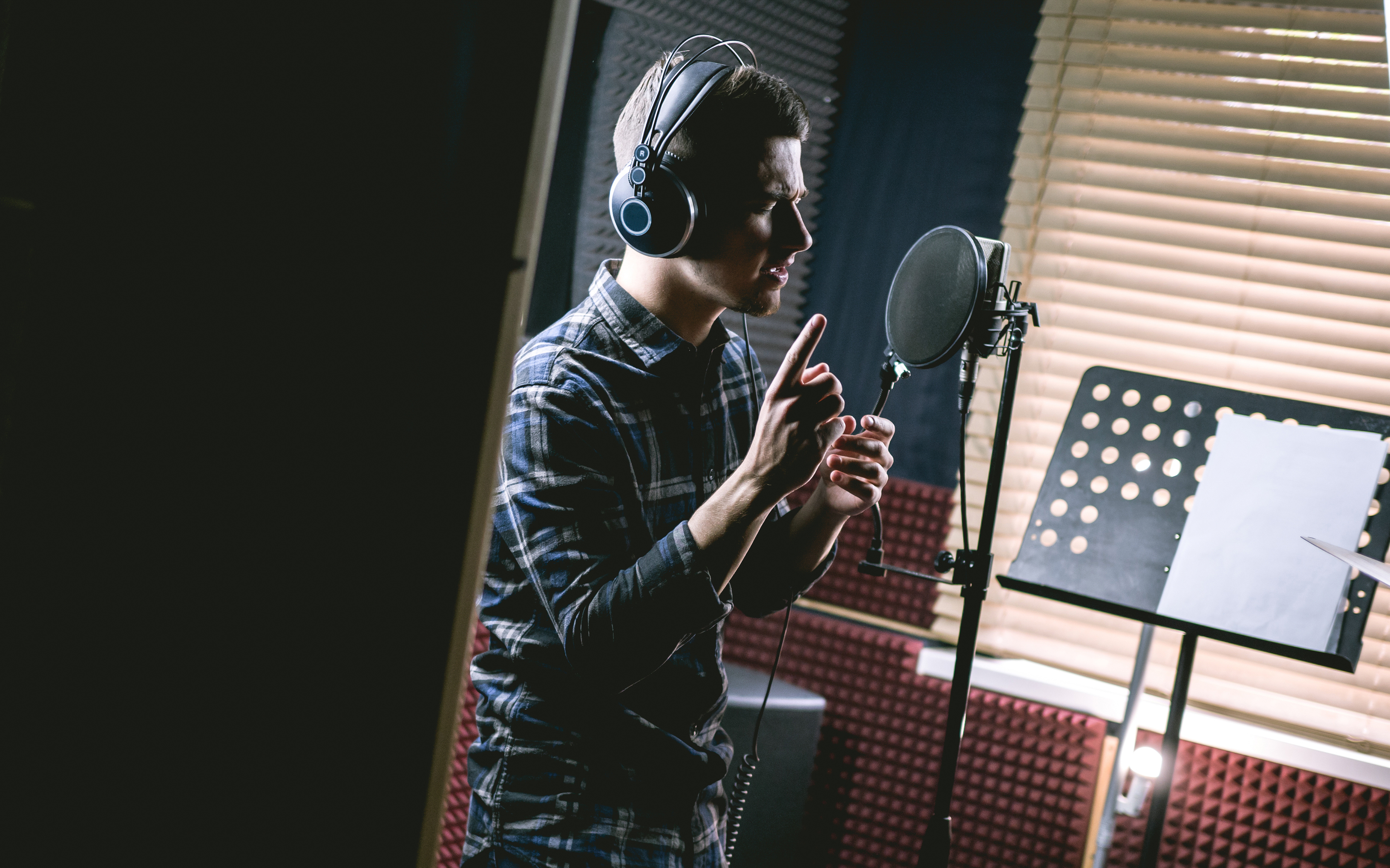 voice-over performance