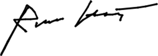 Signature of Roman Krachtovíl
