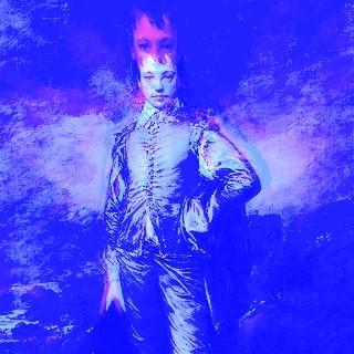 The Blue Boy [altered], Thomas Gainsborough (1727-1788)