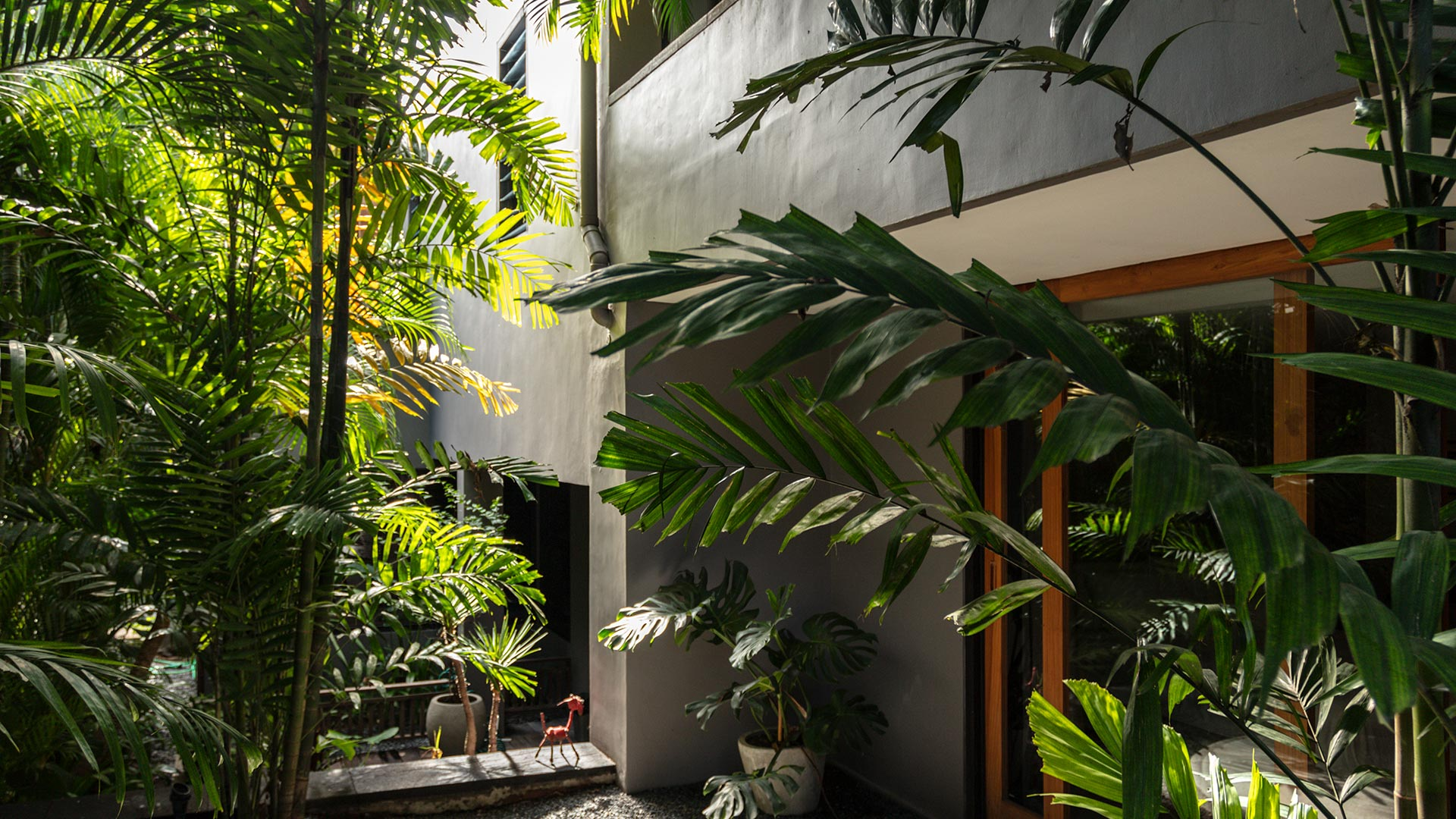 A mid-century home in Bali