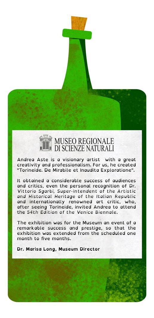 Natural Science Museum testimonial