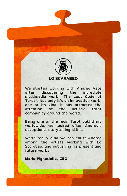 Lo Scarabeo testimonial
