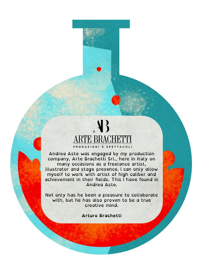 Arturo Brachetti testimonial
