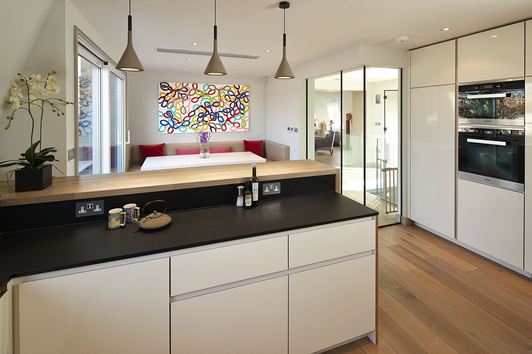 A finished kitchen project in Fulham