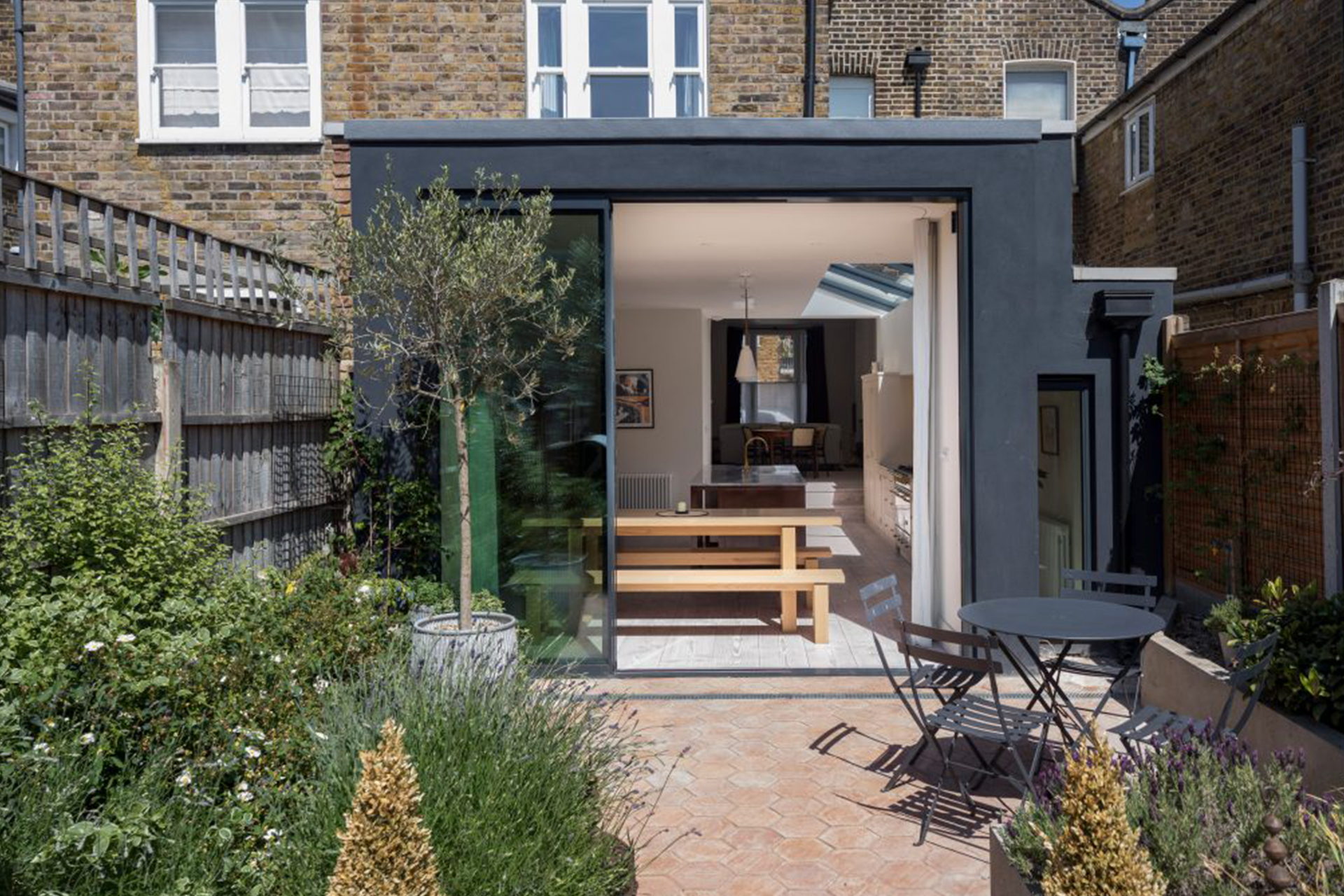 A residential building project in London