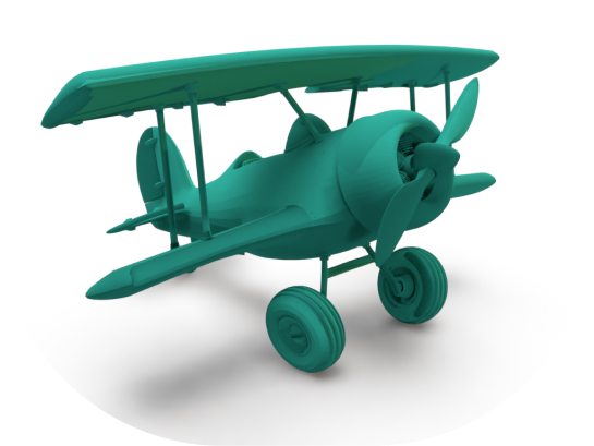 3D Plane that represents delivery