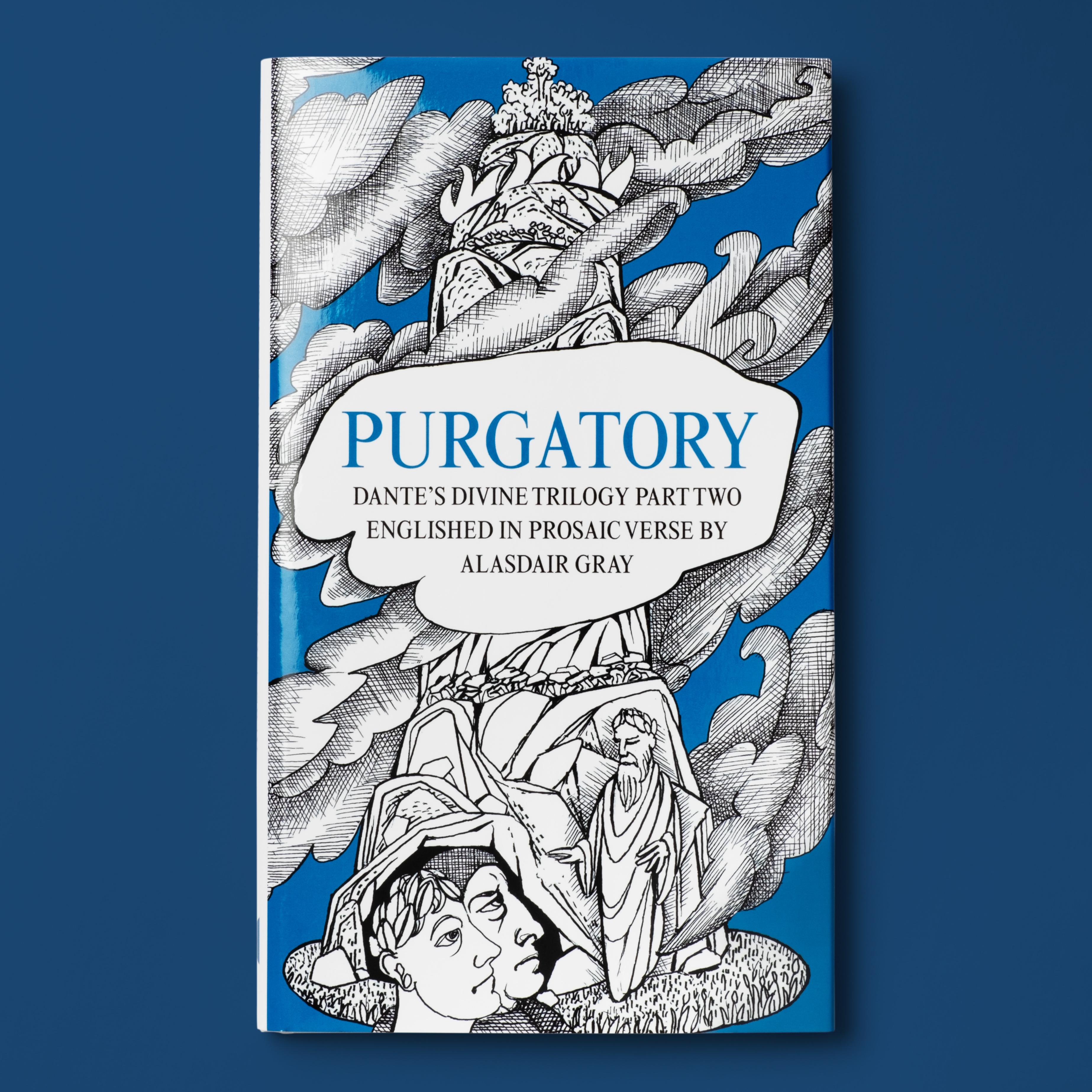 Purgatory. Cover artwork by Alasdair Gray