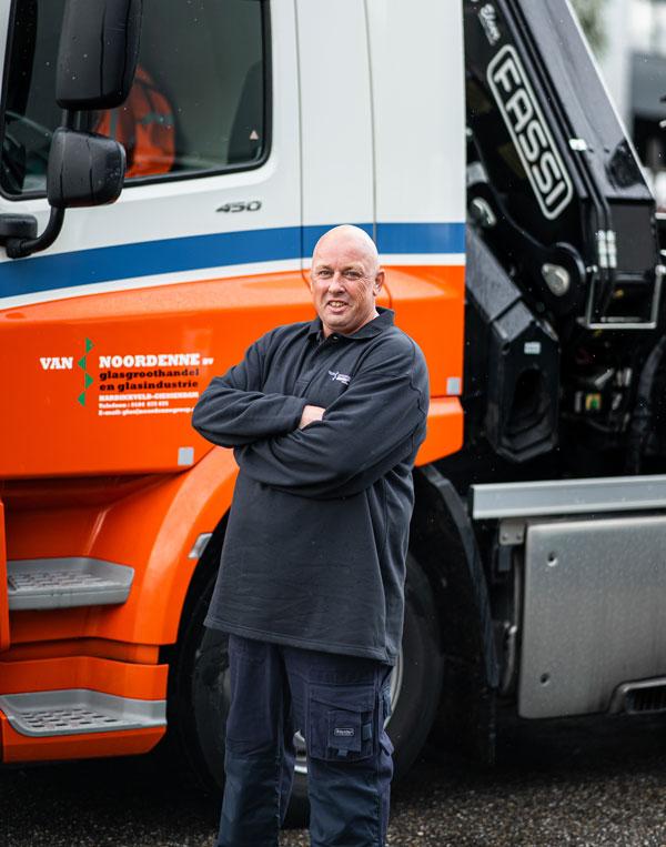 Rudolf Klomp werknemer Van Noordenne