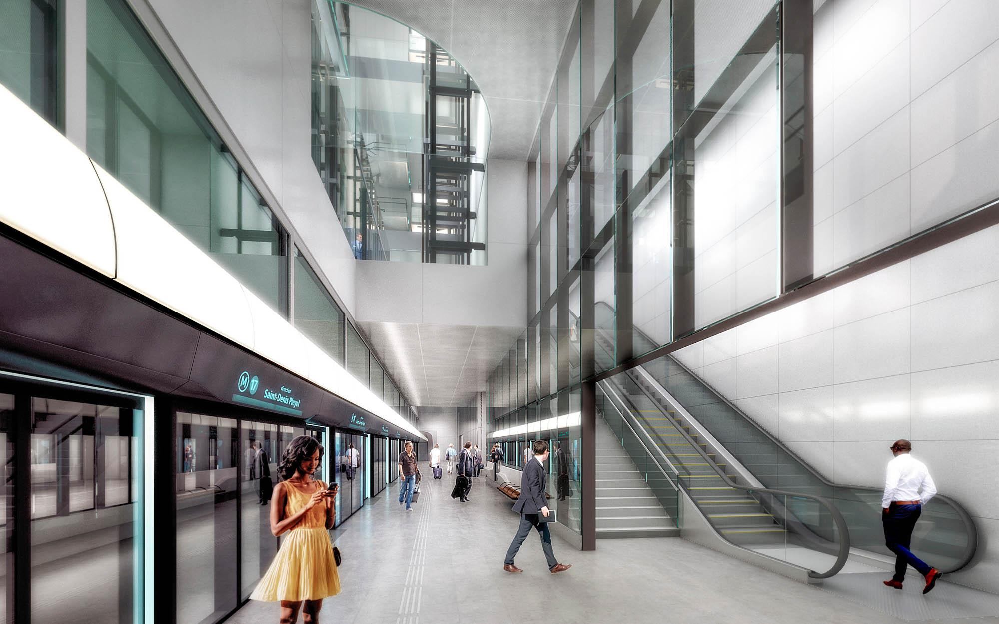 Charles de Gaulle T2 Metro Station