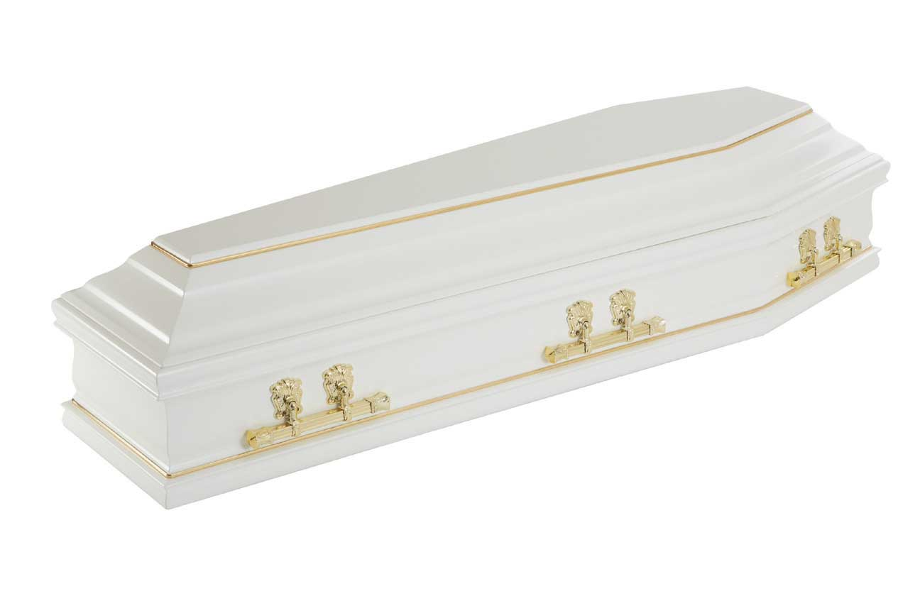 George John Funeral Directors Solihull Coffins Painted Colours