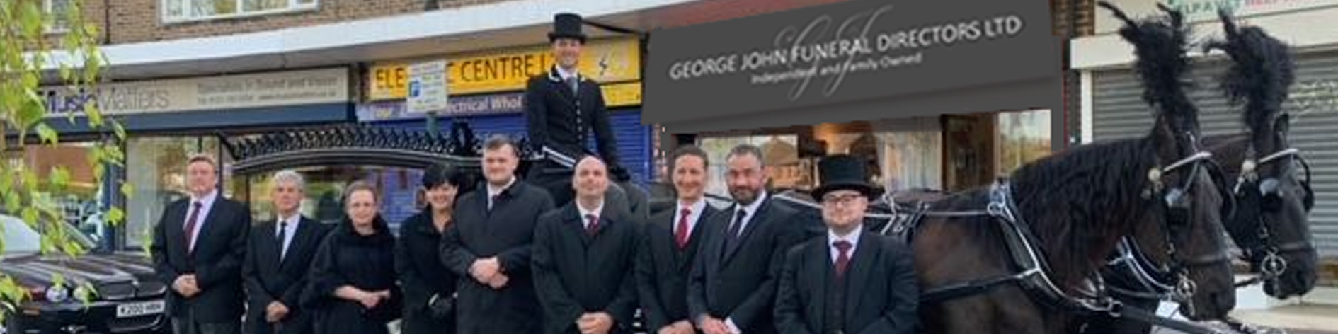 Staff at George john Funeral Directors