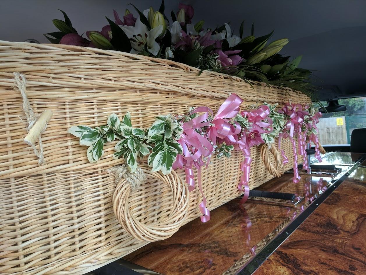 George John Funeral Directors Solihull Coffins Wicker & Willow