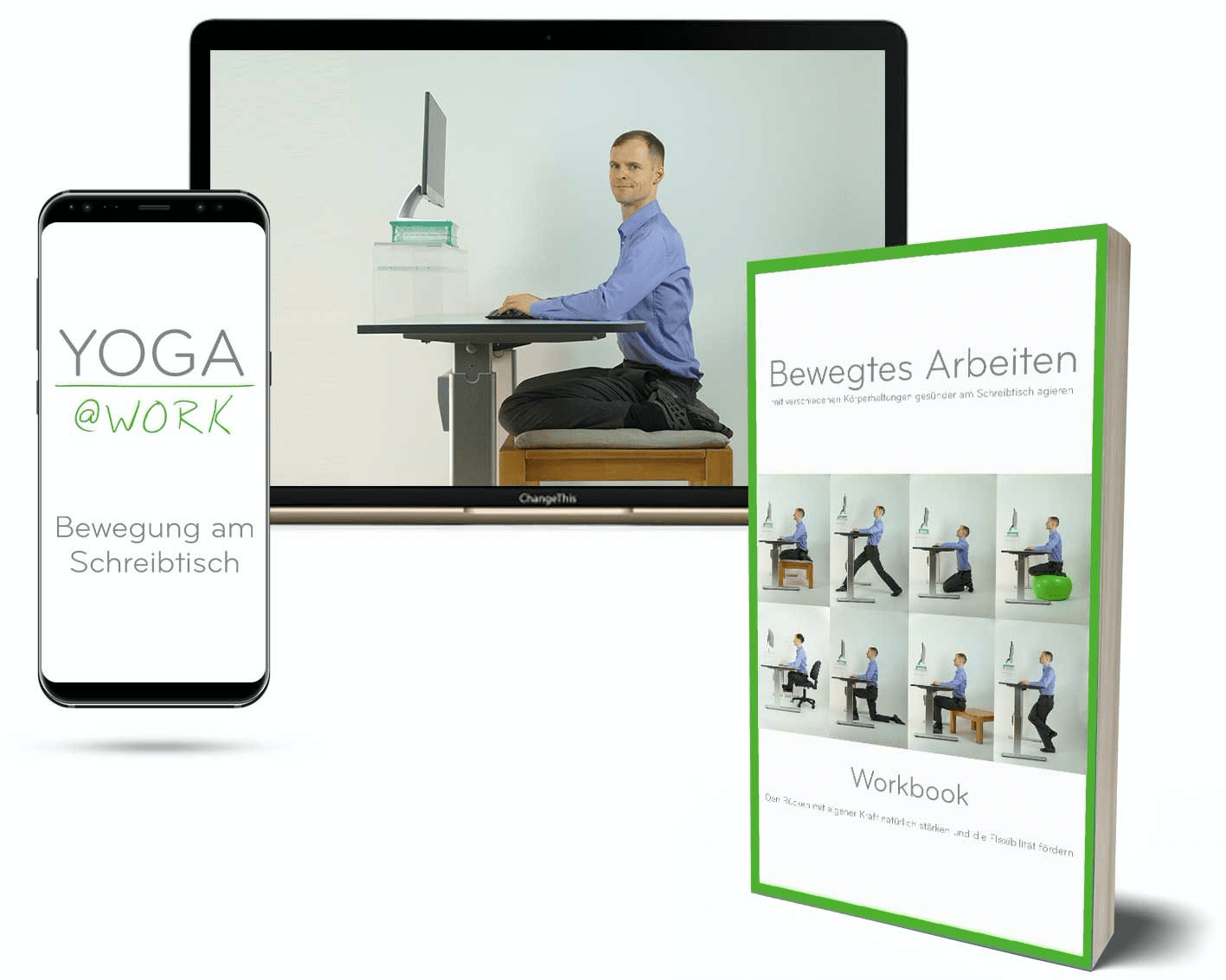 Onlinekurs Yoga at work von Mike Schumacher