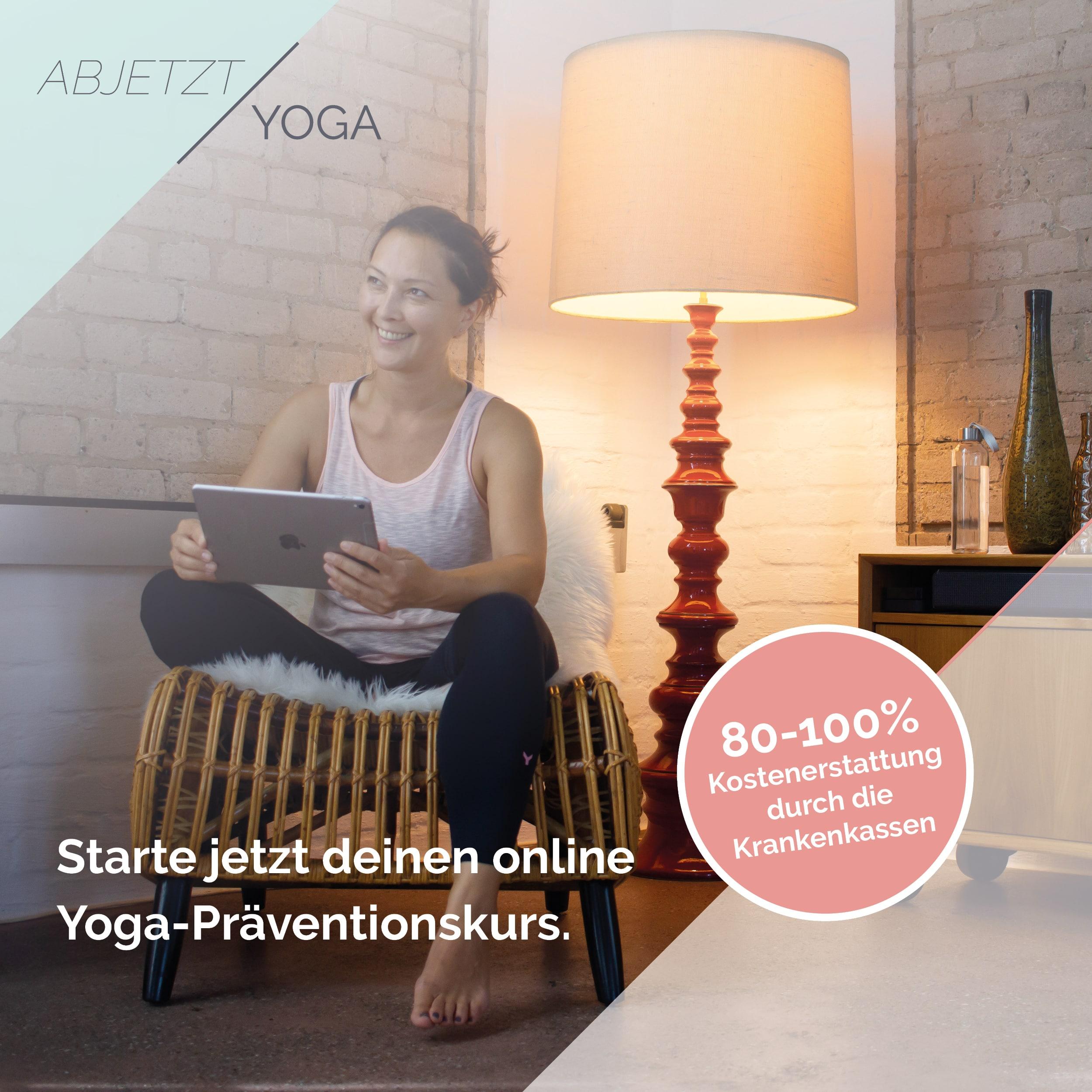 Onlinekurs Yoga von Eun Mie Anne Thiele