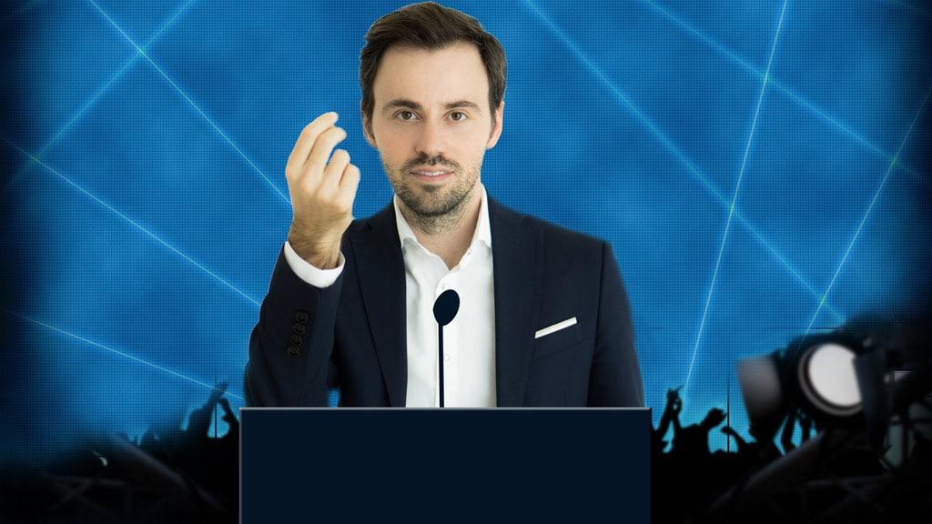 Onlinekurs Rhetorik von Wladislaw Jachtchenko