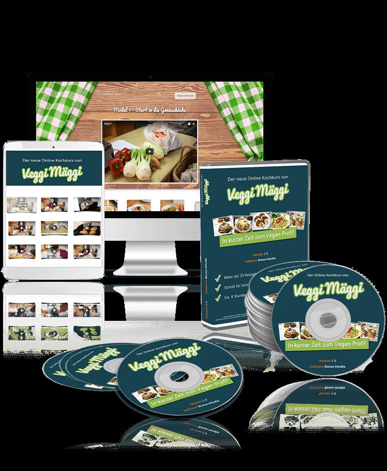 Onlinekurs vegetarisch kochen