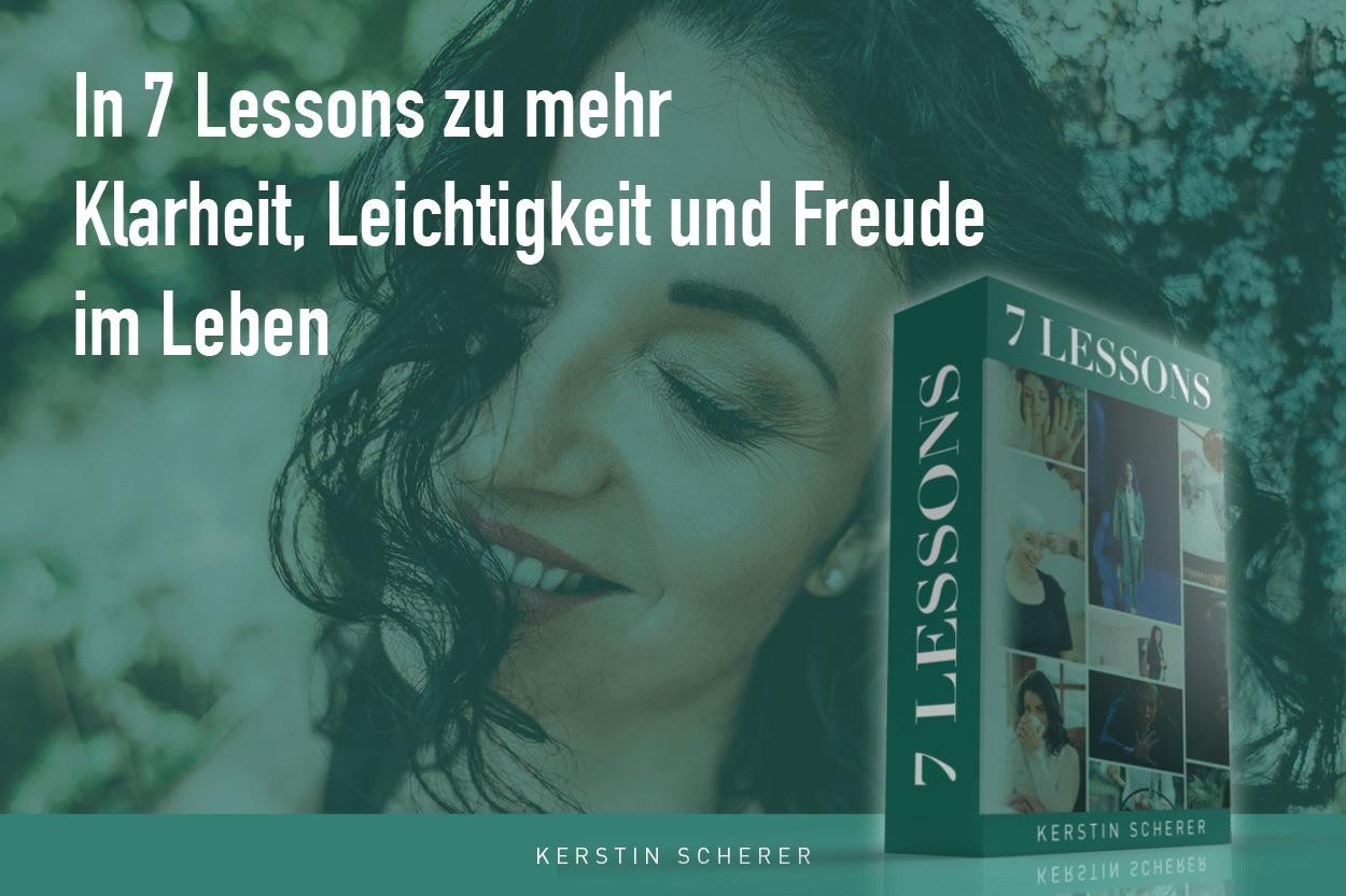 Onlinekurs 7 lessons von Kerstin Scherer