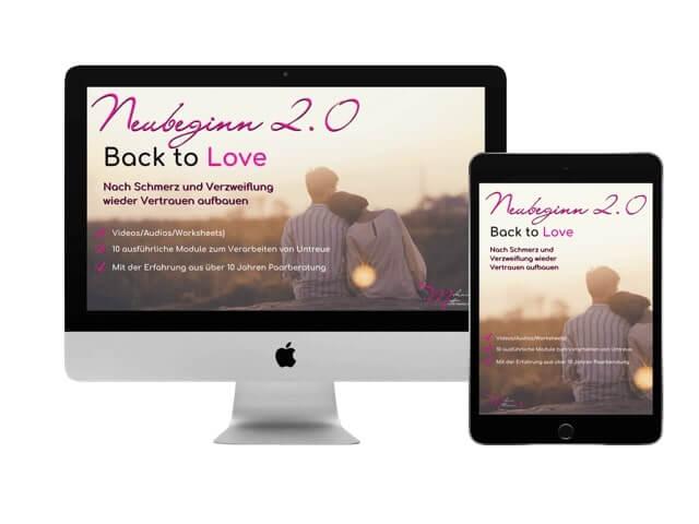 Onlinekurs Neubeginn 2.0 – Back to Love von Melanie Mittermaier