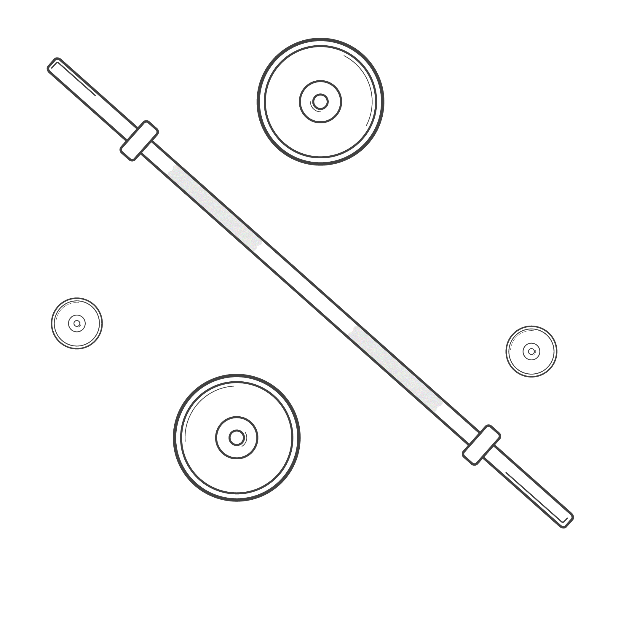 weightlifting bar graphic
