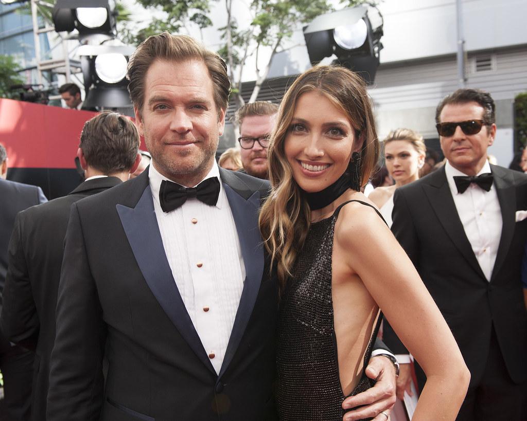 Michael Weatherly and wife Dr. Bojana Janovic Weatherly