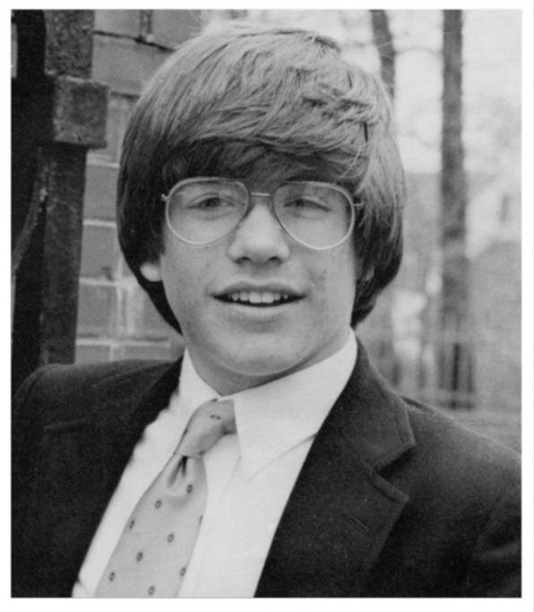 Young Michael Weatherly in 1983