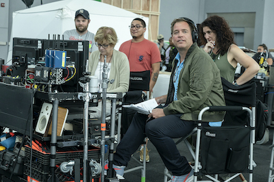 Michael Weatherly in directors chair
