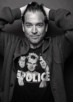 Michael Weatherly for Backstage Magazine
