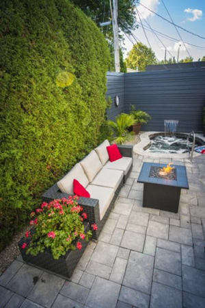 chauffe-terrasse et foyers au propane