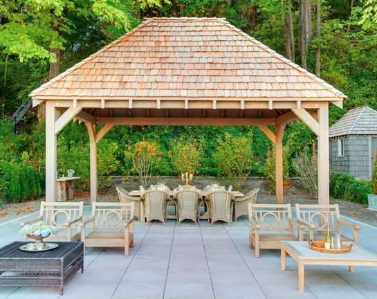 Pergola et mobilier de jardin gazebo
