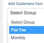 Customer Billing Groups