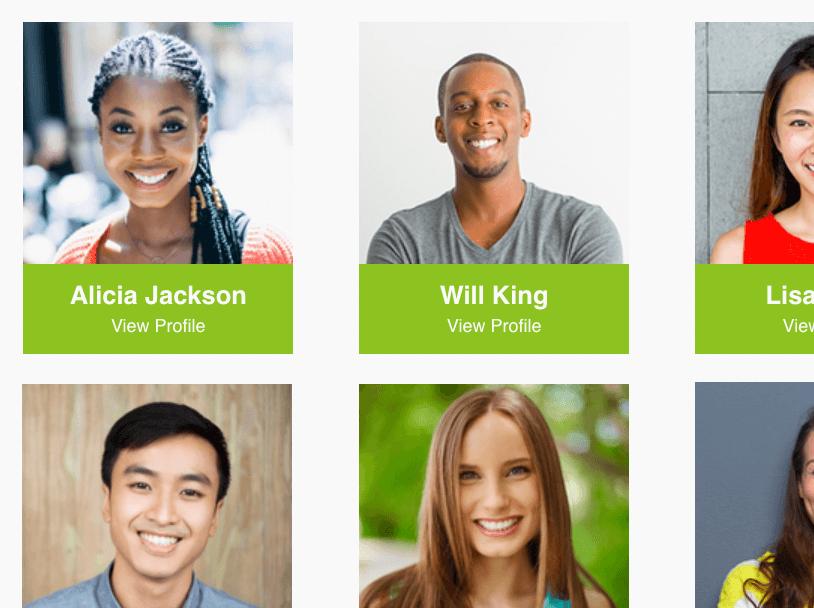 custom website profiles