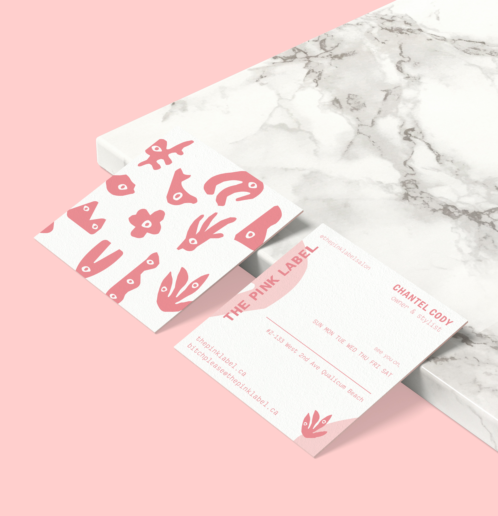 The Pink Label: Salon