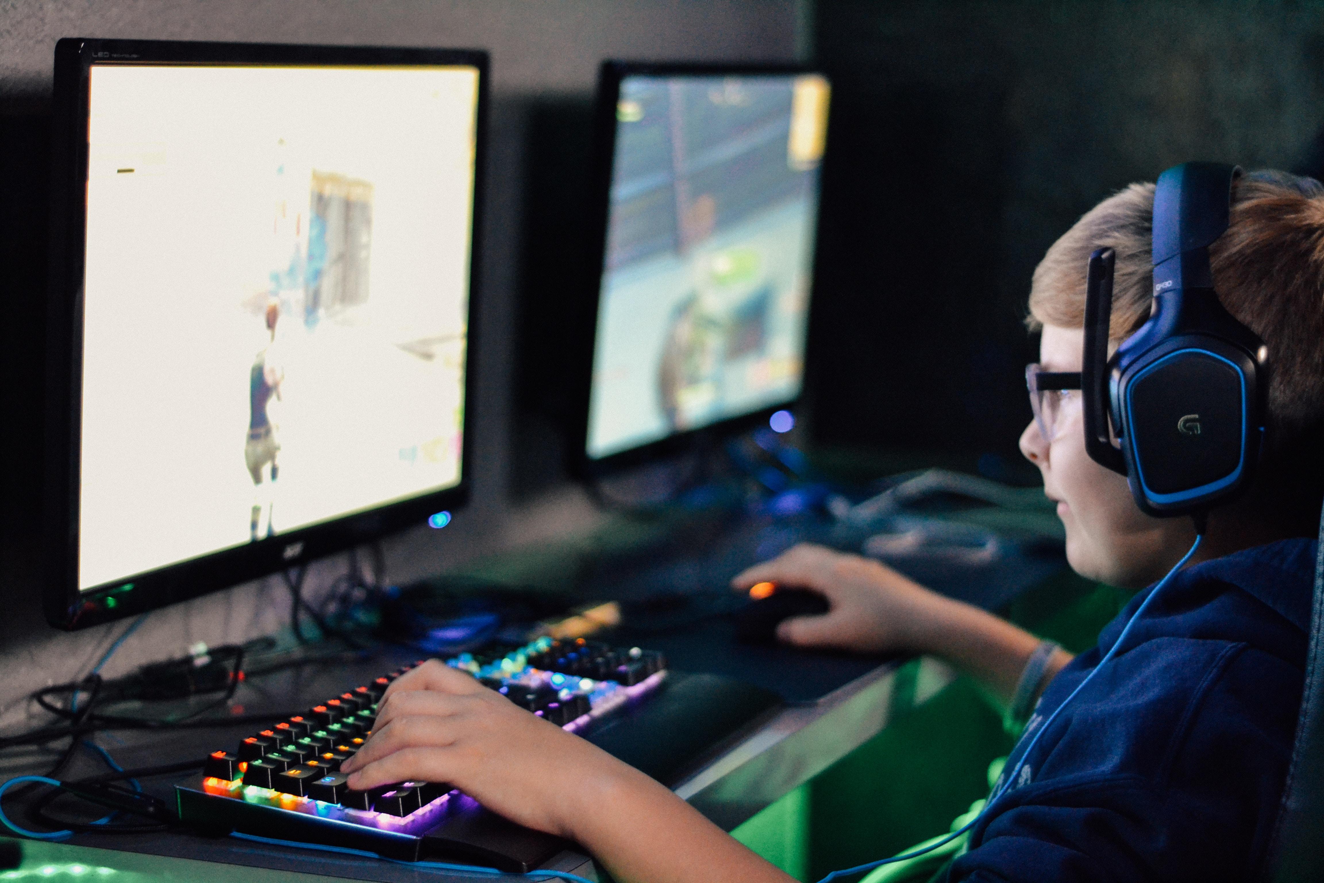 Gutt som gamer