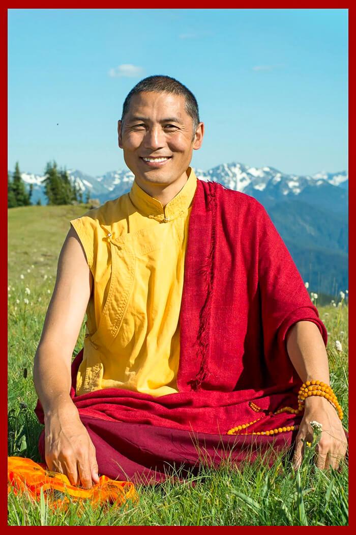 Reincarnation of H.H. Jigme Ngotsar Gyatso, the enlightened yogi who built Kilung Monastery