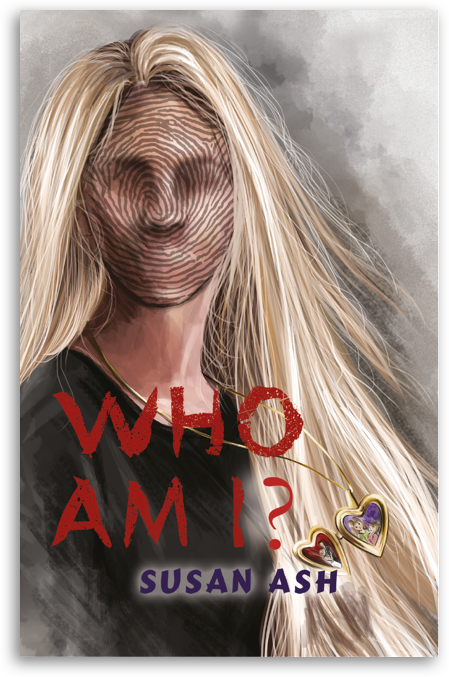 The book cover of 'Who Am I?' by Susan Ash