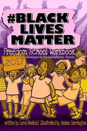 BLACK LIVES MATTER Freedom School Workbook book cover