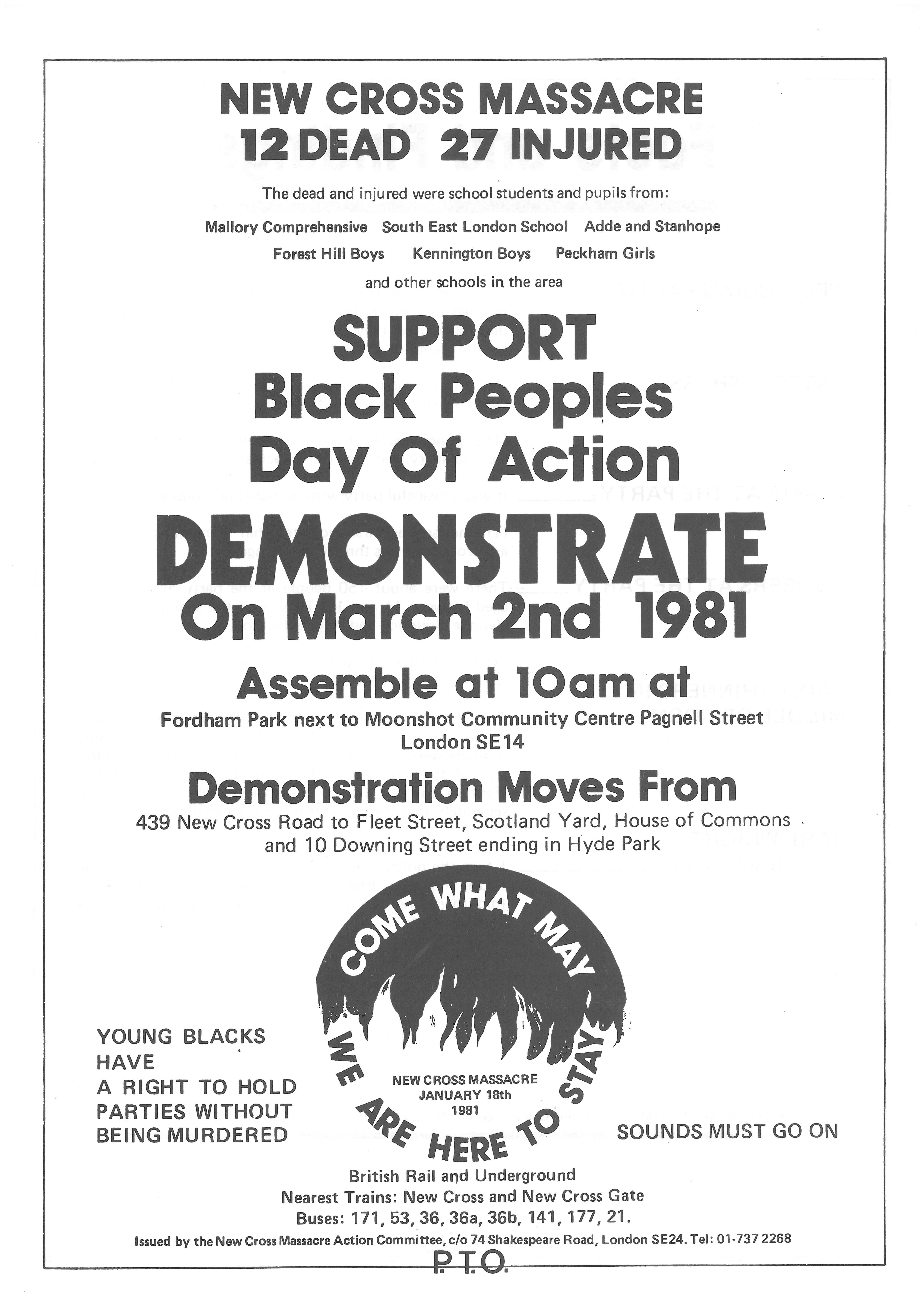 Black People's Day of Action