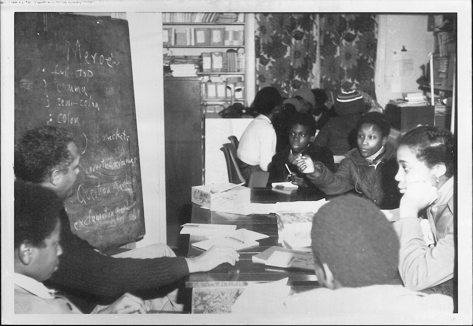 Photo from Black Education Movement Archive
