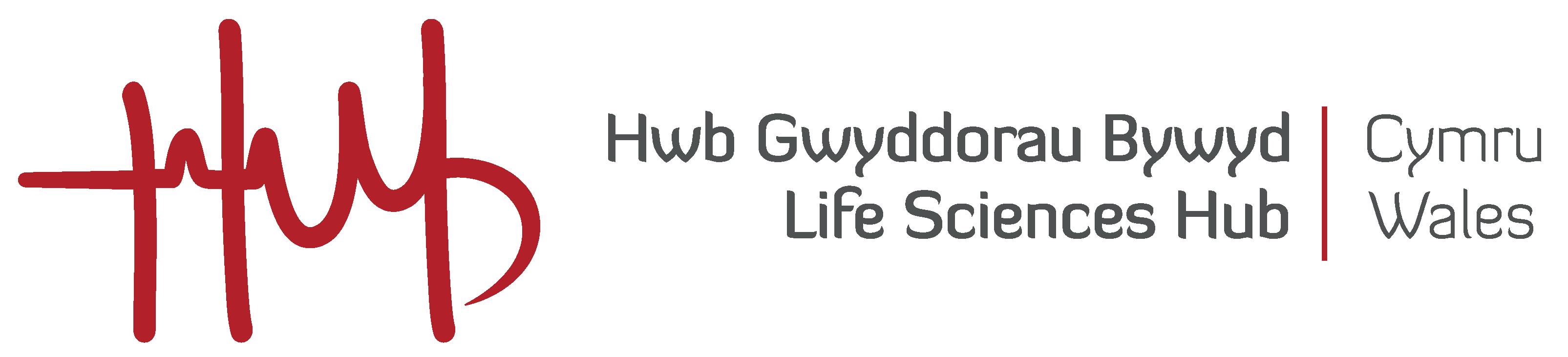 Life Sciences Hub Wales Logo