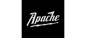Apache logo in white