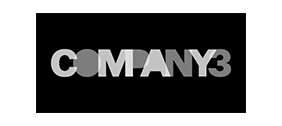 Company3 logo in white