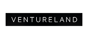 Ventureland logo in white