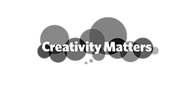 Creativity Matters logo in white