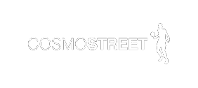 Cosmo Street logo in white